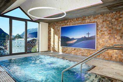 Deckengestaltung Hotel Karwendel in Pertisau