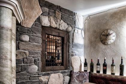 Stuck ist auch in Weinkellern sehr beliebt